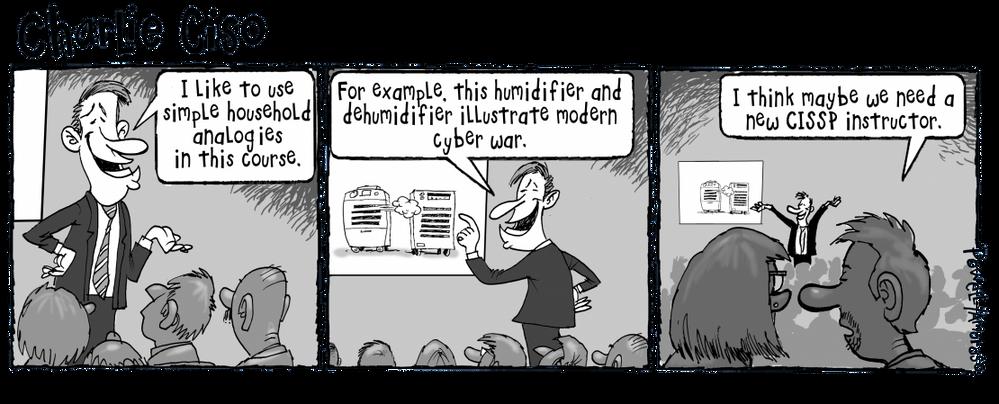 CISSP Instructor explaining  Cyber Warfare!