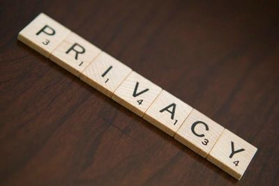 No privacy in pandemic times.