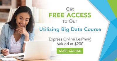 FREE PDI COURSE FOR ANYONE: UTILIZING BIG DATA