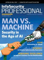 Sept/Oct Issue of (ISC)2's Infosecurity Professional