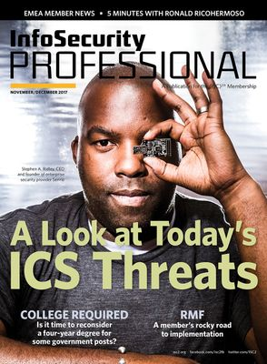 Nov/Dec Issue of Infosecurity Professional