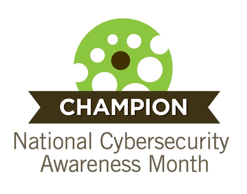 Cybersecurity Awareness Month Champion