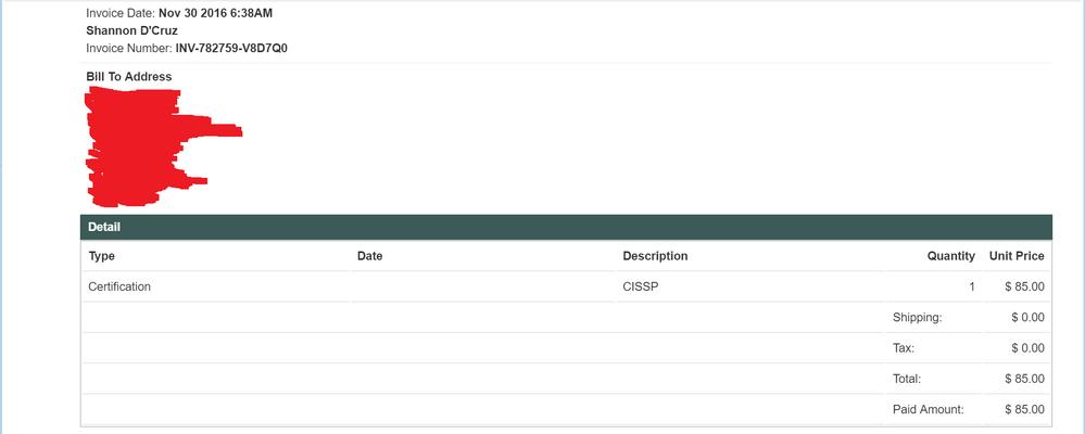 CISSP Purchase confirmation - 20161130.png